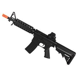 Rifle Airsoft Elétrico Cyma M4A1 CM506 RIS CQB Bivolt + BRINDE Capa Simples