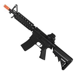 Rifle Airsoft Elétrico Cyma M4A1 CM506 RIS CQB Bivolt Hop Up
