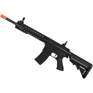 Rifle Airsoft Elétrico Cyma M4A1 CM515 Black Bivolt + BBs BB King 0.20g