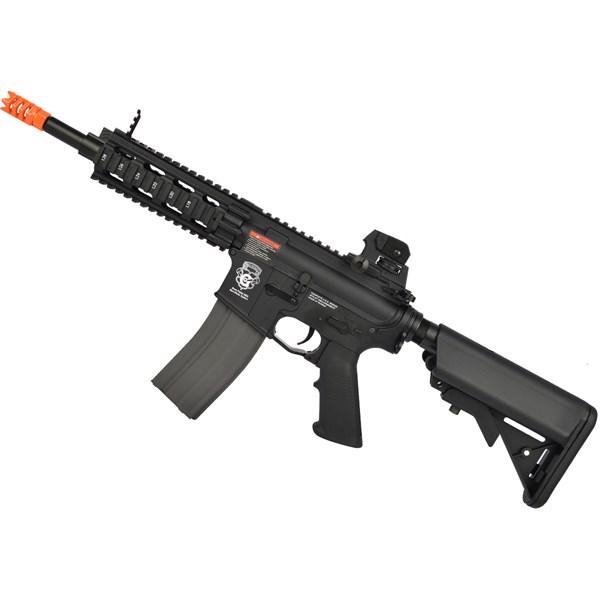 Rifle Airsoft Elétrico G&G GR16 CQW Rush BlowBack Bivolt LIPO