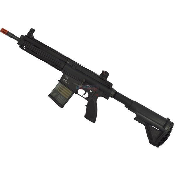 Rifle Airsoft Elétrico Heckler & Koch 417D Full Metal Bivolt 3 Joules