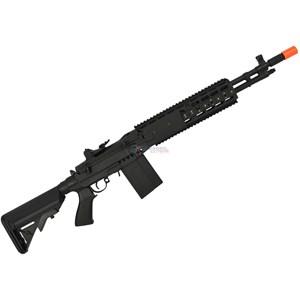 Rifle Airsoft Elétrico M14 EBR CM032EBR Full Metal Bivolt - Cyma