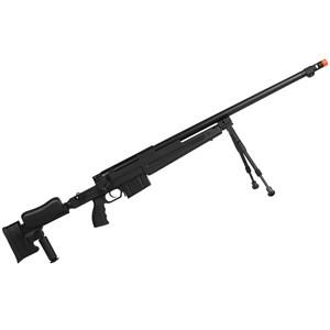 Rifle Airsoft GBB Well Sniper G86B Semi-Metal Preto + Bipé Full Meta