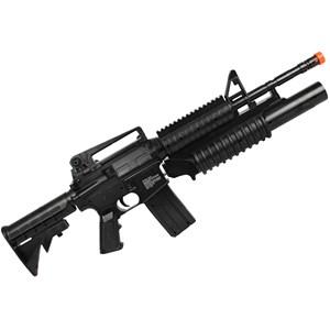 Rifle Airsoft Spring Colt M4A1 RIS Dual Loading
