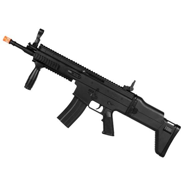 Rifle Airsoft Spring FN Herstal Scar-L Black - Cybergun