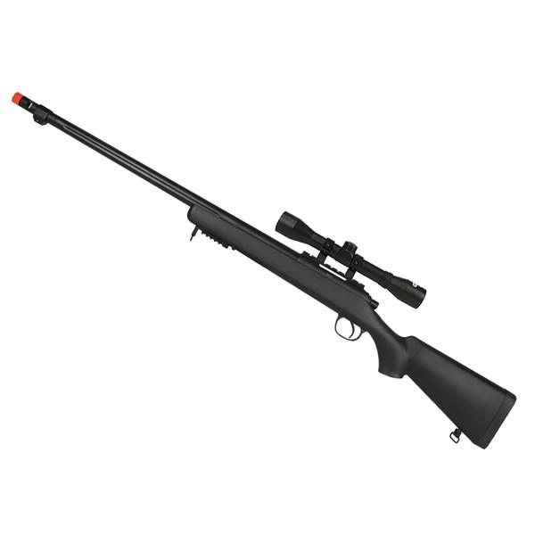 Rifle Airsoft Spring Sniper MB-07A + Luneta Fixxar 4x32 22mm