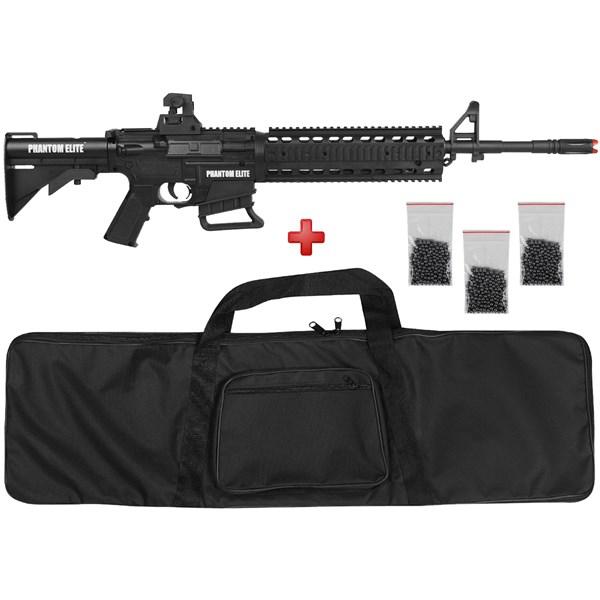 Rifle de Pressão Phantom Elite M4-M177 Multi Pump 4.5mm Basic