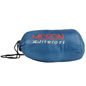 Saco de Dormir Micron X-Lite Azul e Preto - Nautika