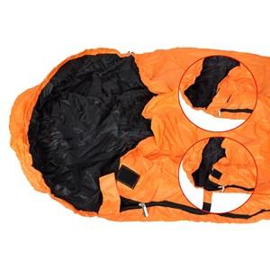 Saco de Dormir Micron X-Lite Laranja e Preto
