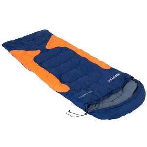 Saco de Dormir Nautika Freedom Azul e Laranja + Isolante Térmico Nautika