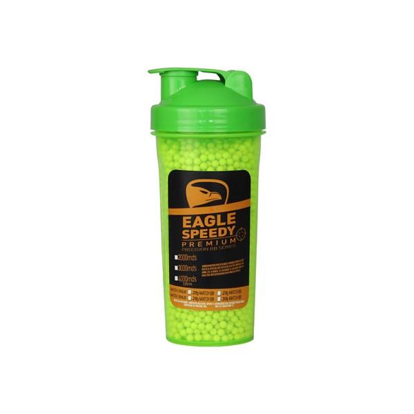 Squeze Plástico com BBs Airsoft Munição Plástica Eagle Speedy 0.25g 4000un.