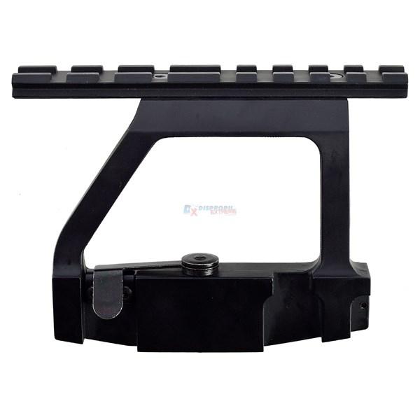 Suporte P/ Luneta AK-47 Trilho 22mm